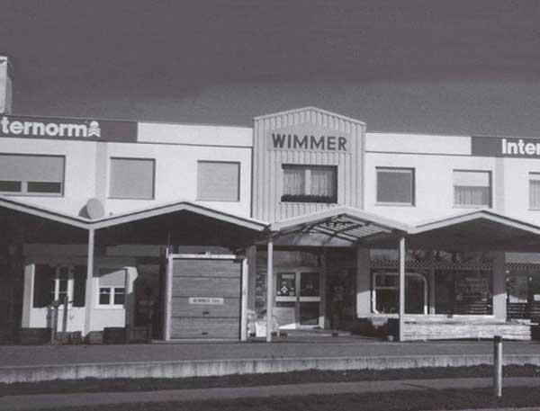 Wimmer Firmengebäude damals